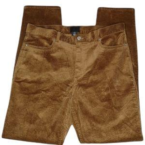 H&M Wide Wale Corduroy Men's Pants Straight Fit